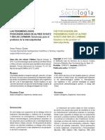 Pignuoli Ocampo, S.(2015) Las fenomenologías poshusserlianas de Alfred Schutz y Niklas Luhmann soluciones para el problema de la intersubjetividad, Revista Internacional de Sociología, 73, nº3