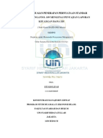 Analisis Kesesuaian Penerapan Pernyataan Standar Akuntansi Keuangan Zis
