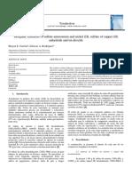 Syntesis Sal de tutton y dioxido de estaño