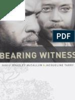Bearing Witness Catalogue