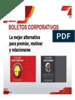 Boletos Corporativos Cines Unidos Febrero 2 2016