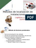 Métodos de Localización de Instalaciones