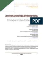 La enseñanza de la nutrición a nivel de secundaria utilizando el tema transversal.pdf