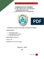 Estudio y Evaluacion Del Control Interno