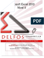 Manual Excel 2010 Nivel II