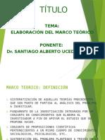 Diapositivas Marco Teorico - Dr. Uceda Tema 4