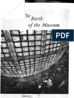 Tony Bennett the Birth of the Museum History Theory Politics