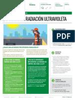 Afiche Radiación UV Solar Achs