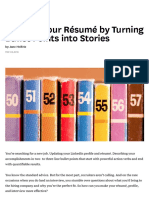 Improve Your Résumé by Turning Bullet Points into Stories.pdf