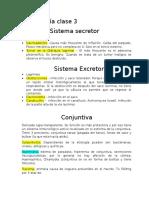 Oftalmología Sistema Secretor y Excretor