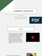 El Movimiento Zapatista