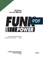 Funk - 2000 Series - Service Manual