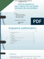Uso y Abuso de Las Redes Sociales En