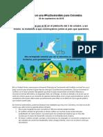 Posición y Propuestas PAZ La Ciudad Verde - Paz Sostenible