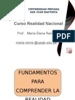 Clase 1 Realidad Nacional