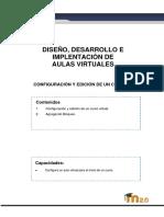 1.3 Configuración y Edición de Un Curso