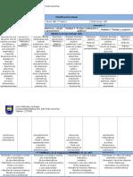 Modelo de Planificación Anual Matemática