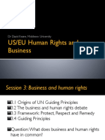 - Business and Human Rights