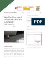 Magníficas ideas para el Periódico Mural del mes de OCTUBRE - Imagenes Educativas.pdf