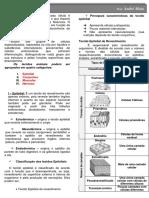 Resumo de Histologia Básica