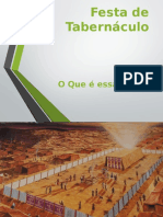 Estudo Festa Dos Tabernaculos