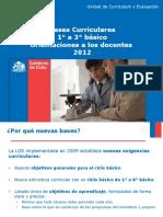 Orientaciones Generales Al Docente Para Implementar Bases Curriculares 2012