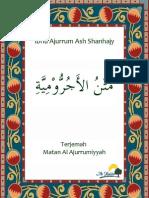 Terjemah Matan Al Ajurrumiyyah