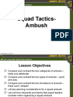 Squad Tactics - Ambush