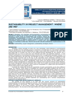 Sustainability in Project Management_Where Are We