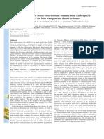 induccion genetica de resistencia en frijol
