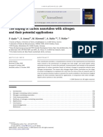 Review. Aplicaciones de nanotubos de carbono dopados con nitrógeno.