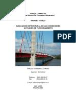Evaluacion Estructural Puente La Amistad