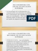 actividad 4.1Lectura y escritura con recursos tic en educación - copia.ppt
