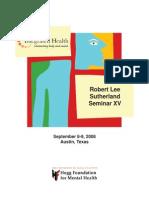 Hogg Foundation for Mental Health Integrated Health Symposium