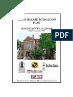 Multihazard Mitigation Plan Bond county Illinois