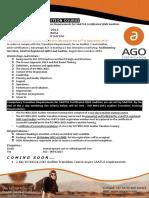 2 Day ISO9001 2015 Transition Workshop 2 3 Nov 2015
