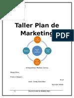 Taller Plan de Marketing