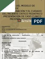 Gladys Caso Clinico Modelo-2016 Jefe Gladys