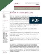 Cristianismo - Estética Del Císter. Bernardo de Claraval. Análisis de Su Apología, Esp.