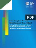 Buku Kompilasi Putusan MK Uji Materi UUK No 13 Th 2003.pdf