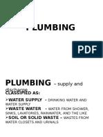 Plumbing Pptx
