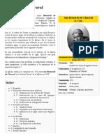 Cristianismo - Estética Del Císter. Bernardo de Claraval