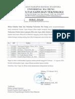 Satuan Tugas Kajian Ulang Standarisasi Prosedur PKL dan TA