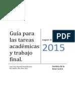 Guia Tareas Academicas - Reparticion