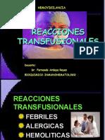 REACCIONES TRANSFUSIONALES 2