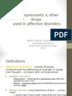 2012 Antidepressants