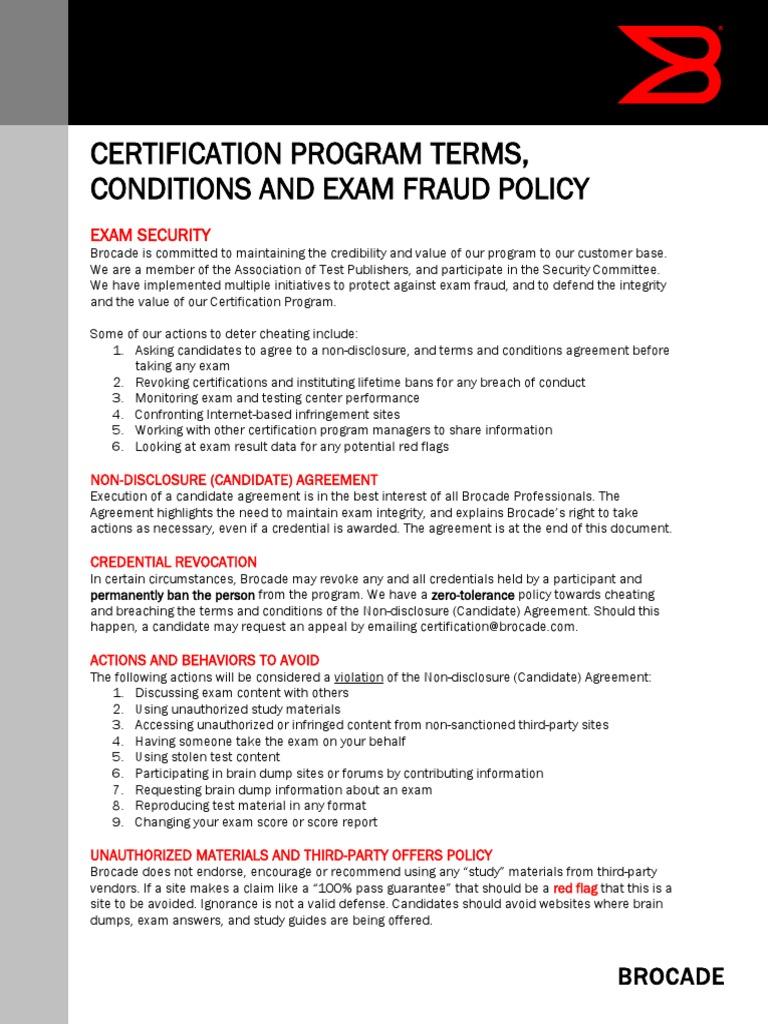 Certification Lnda Non Disclosure Agreement Credential