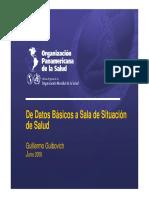 Sala Situacion Salud Venezuela