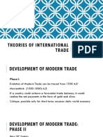 Theories of International Trade (New Format)