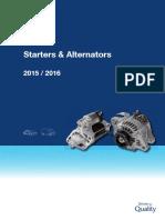 Denso - Starter and Alternator 2015-2016